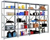 Heavy Steel Shelving