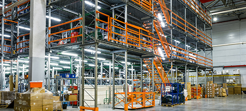 advantages of warehouse mezzanine
